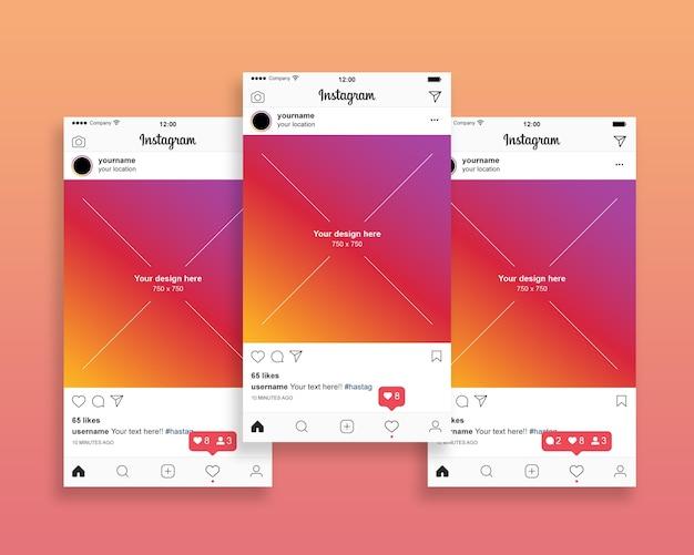 Instagram pós coleta