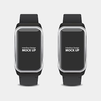 Interface de exibição digital para relógio inteligente
