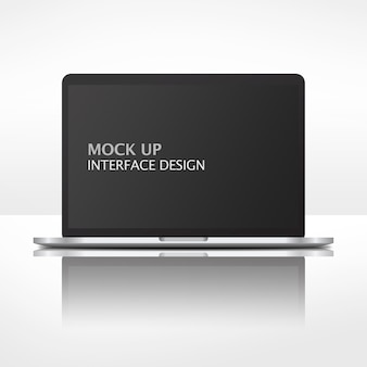 Interface de simulação para laptop