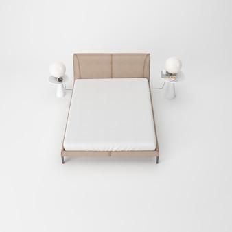Interior moderno quarto isolado
