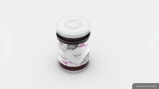Jelly jar mockup