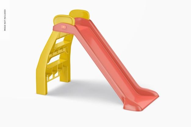 Kids slide mockup