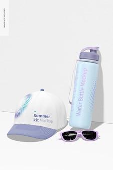 Kit de maquete de verão