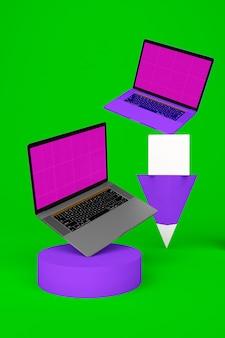 Laptop balanceado