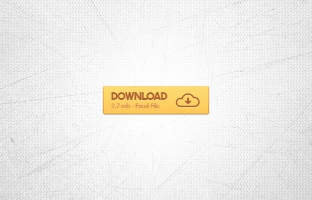 Laranja botão de download do arquivo excel