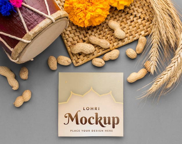 Lay-up do mock-up do conceito lohri