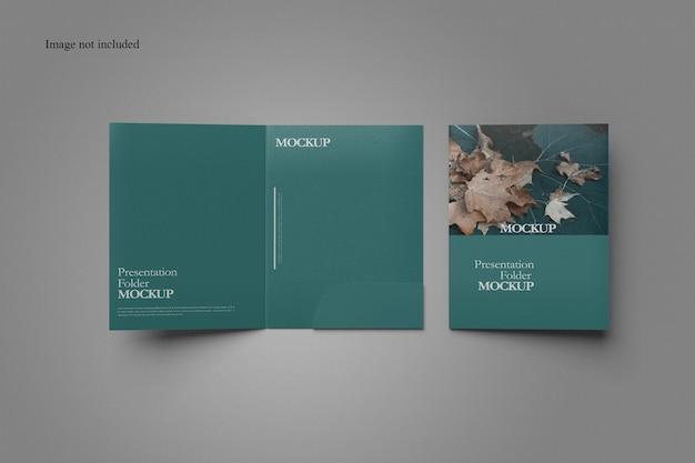 Limpar design de modelo de pasta de documentos