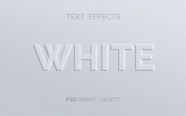 Limpar efeito de texto em relevo