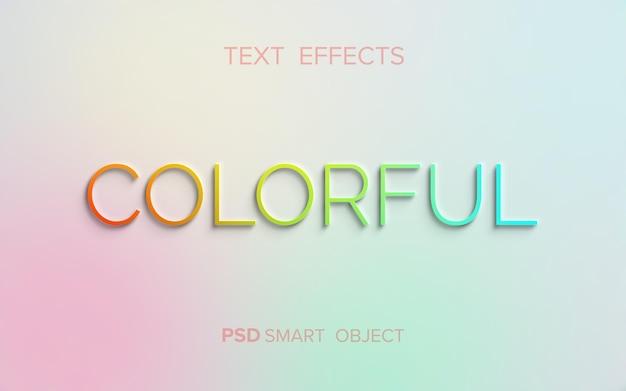 Limpar efeito de texto em relevo Psd grátis