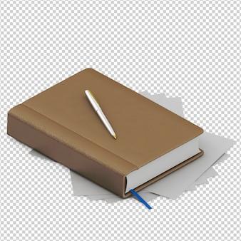 Livro isométrico