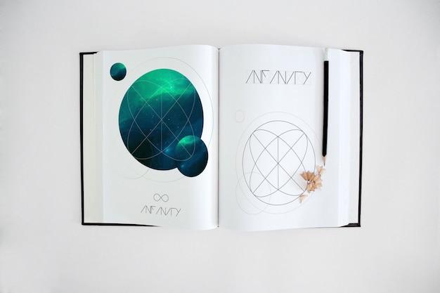 Livro mock up projeto