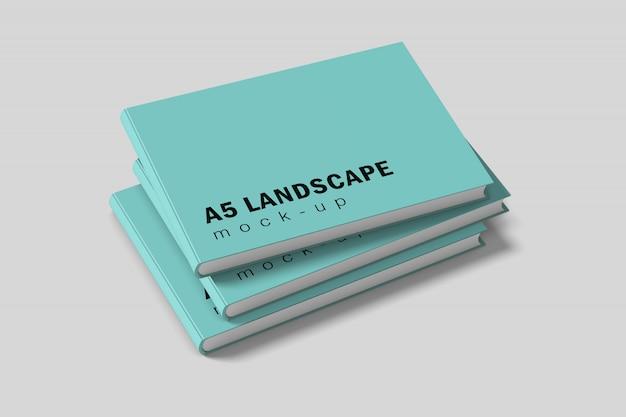 Livro paisagem