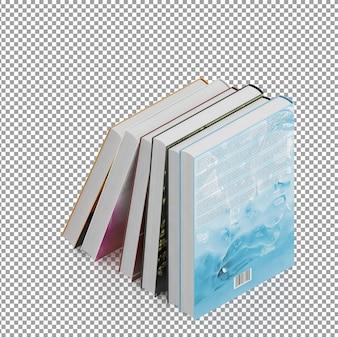 Livros isométricos