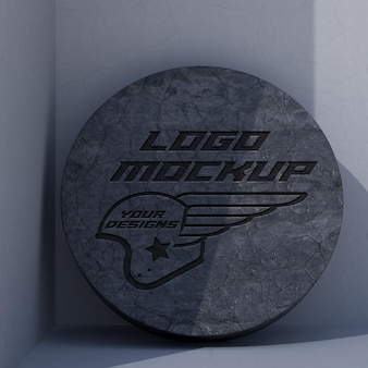 Logo mockup branding branding propaganda de identidade corporativa