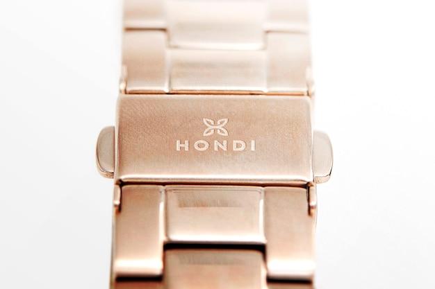 Logo mockup luxury watch