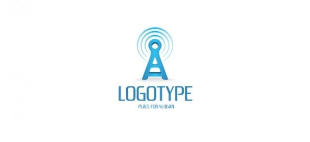 Logotipo modelo de comunicação