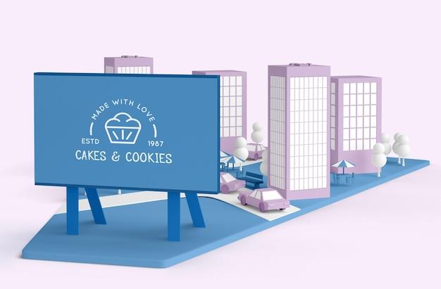 Loja de biscoitos comercial exterior