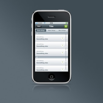 Loja de classificação programa lista de app