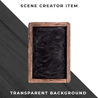 Lousa em fundo transparente