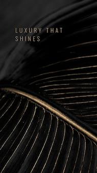 Luxo que brilha em um plano de fundo texturizado de folha dourada