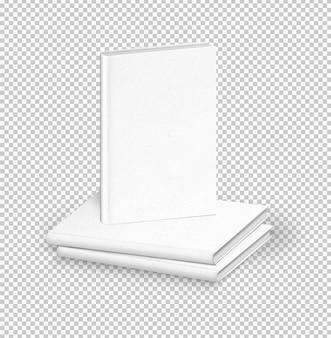 Maço de livros brancos