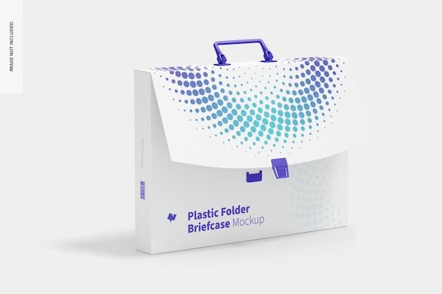 Maleta de pasta de plástico maquete