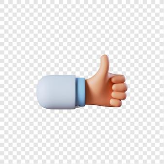 Mão de médico como gesto