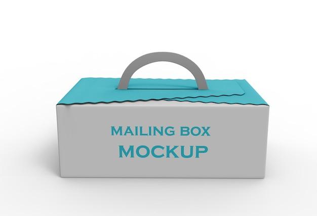 Maquete 2 da caixa de correio