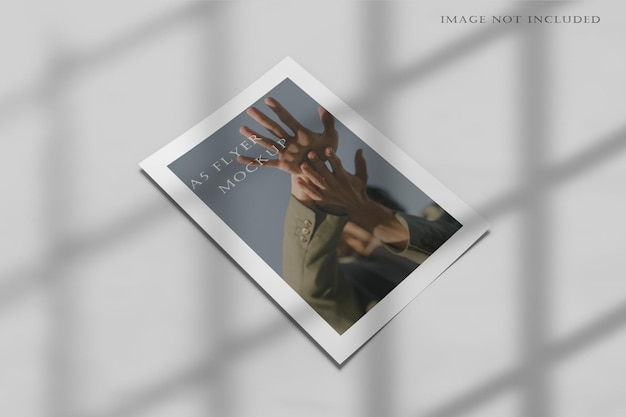 Maquete a5 flyer