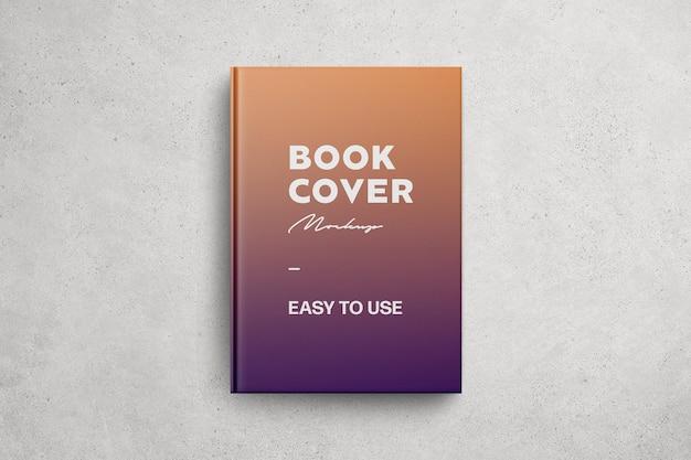 Maquete brilhante da capa do livro