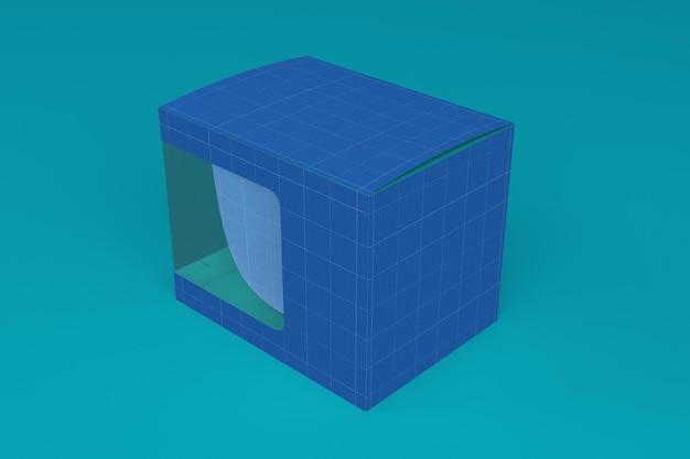 Maquete da caixa de caneca v1