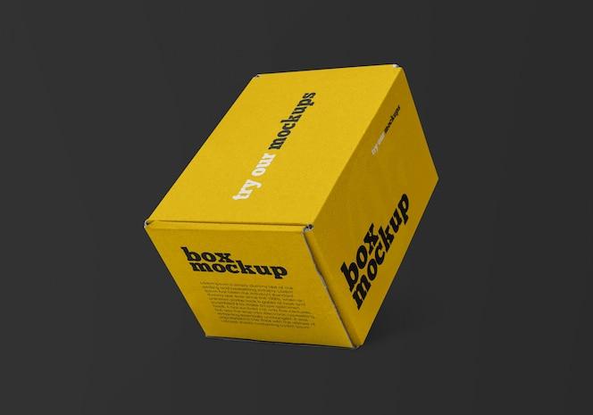 Maquete da caixa de entrega