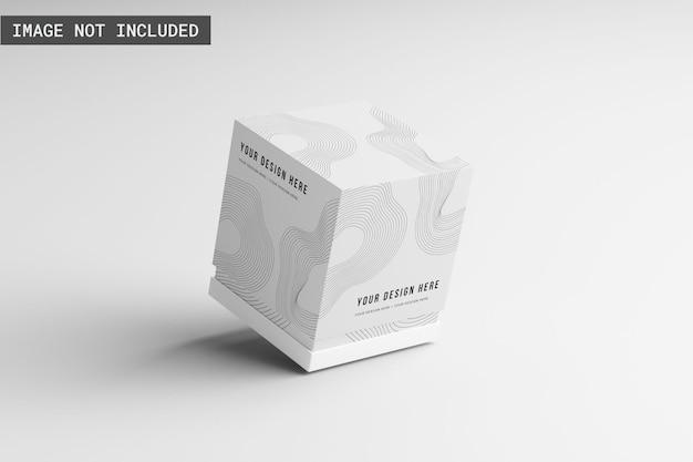 Maquete da caixa do produto
