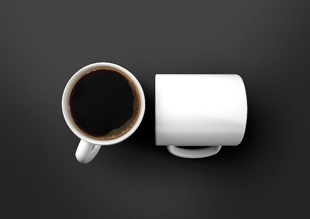 Maquete da caneca cofffee