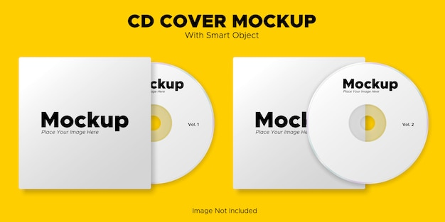Maquete da capa do cd
