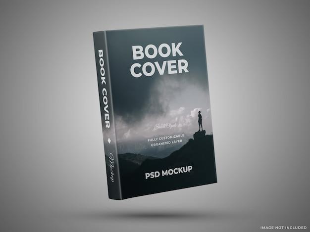 Maquete da capa do livro isolada