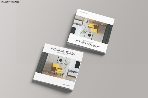 Maquete da capa do square catalog