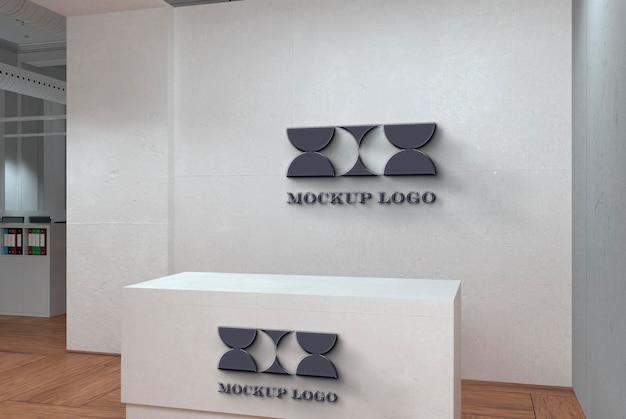 Maquete da marca do escritório