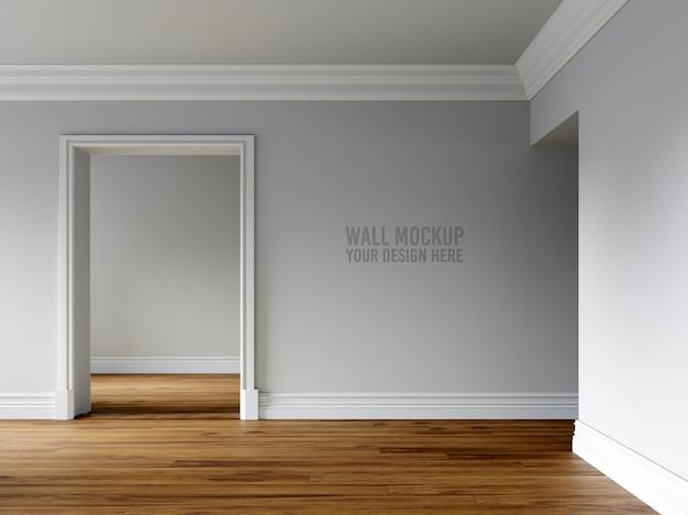 Maquete da parede interior