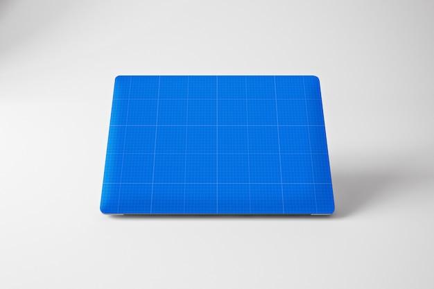 Maquete da pele do laptop
