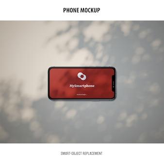 Maquete da tela do telefone
