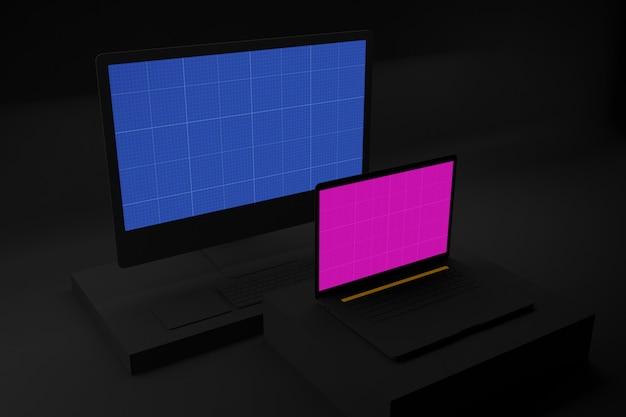 Maquete da web escura