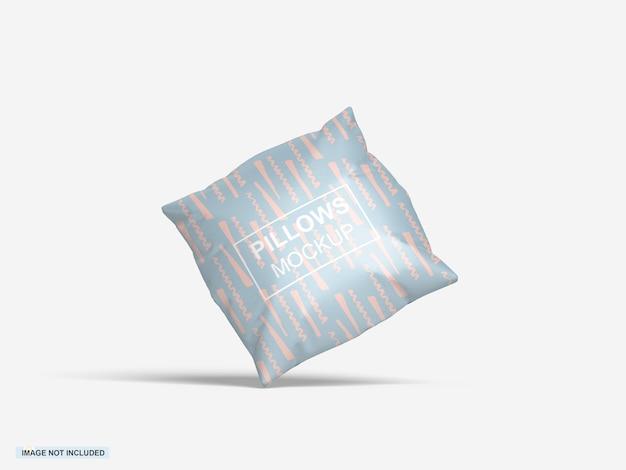 Maquete de almofada quadrada
