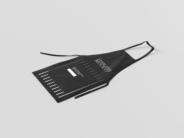 Maquete de avental de chef