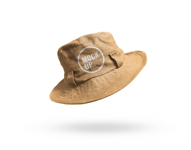 Maquete de balde de chapéu