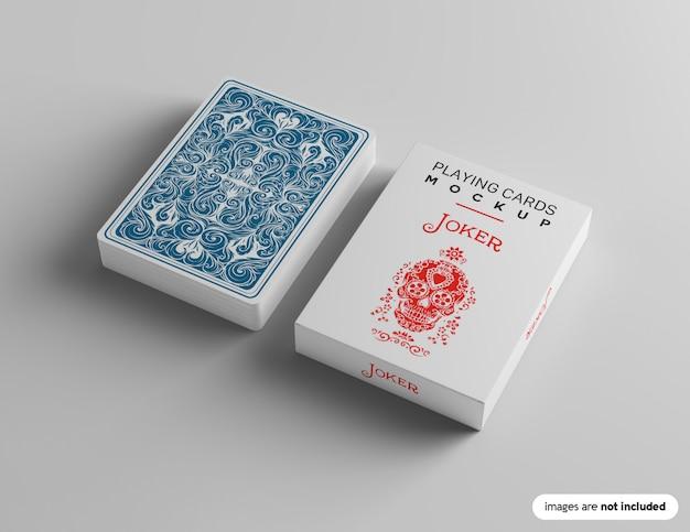 Maquete de baralho