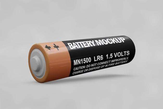Maquete de bateria