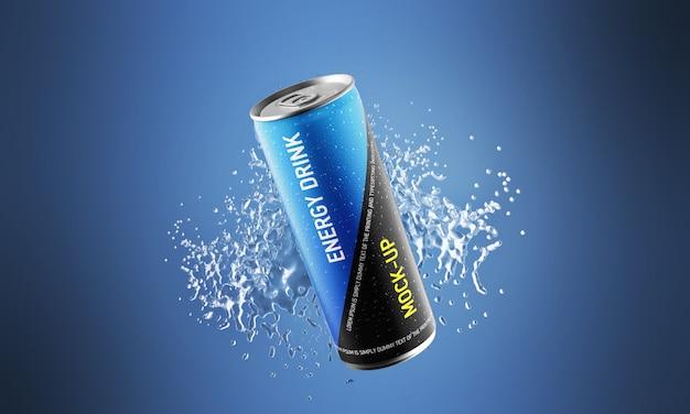 Maquete de bebida energética