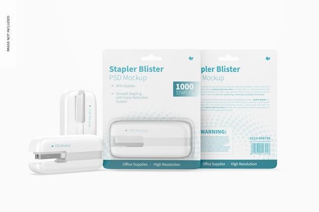 Maquete de blister de grampeador