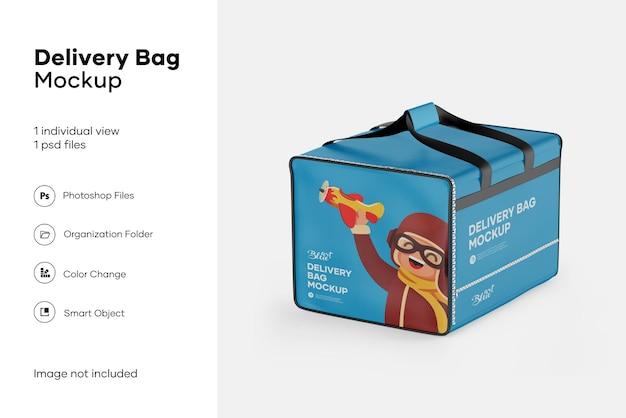 Maquete de bolsa de entrega